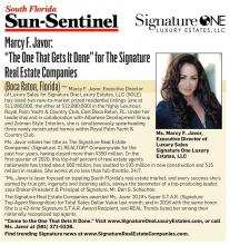 Sun Sentinel Real Estate News